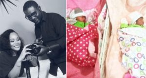Lanre Makun Welcomes Twins
