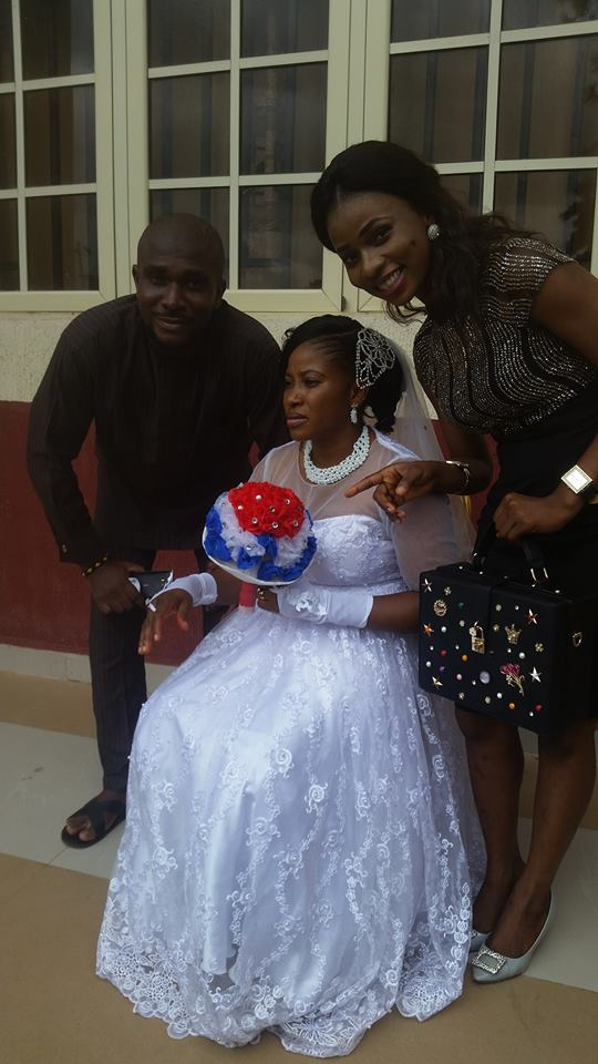 Physically challenged lecturer