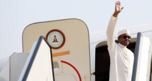 President Buhari departs Nigeria