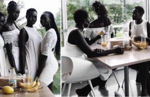 Charcoal Dark Sudanese Beauties