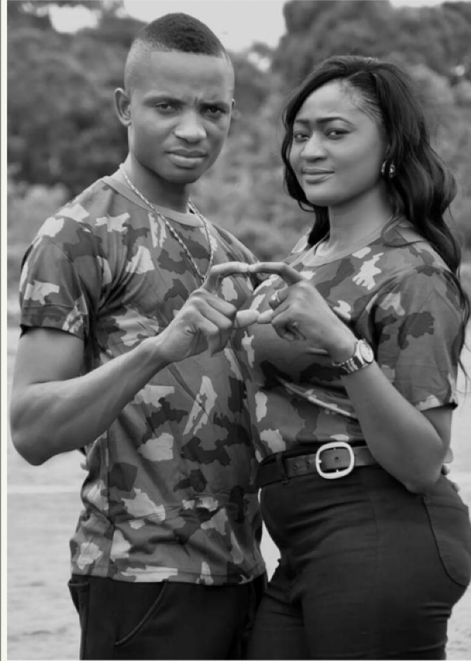 Nigerian Military Couple