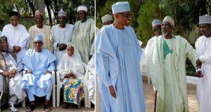 president buhari receives classmates