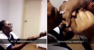 nigerian man proposes girlfriend