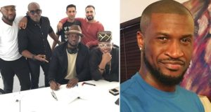 Peter Okoye signs deal