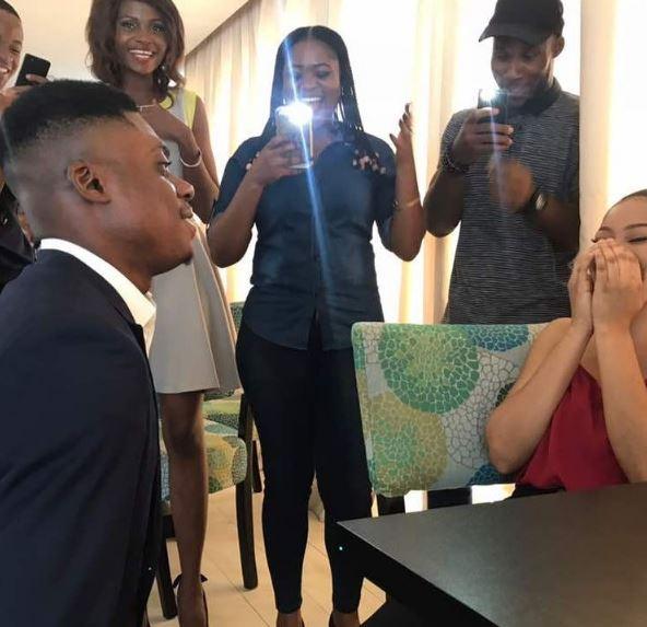 Comedian Ebiye proposes