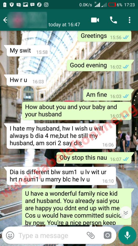 I still love you  I hate my husband