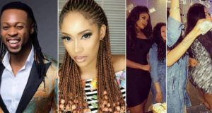Sandra Okagbue Tattoos Flavour's Name