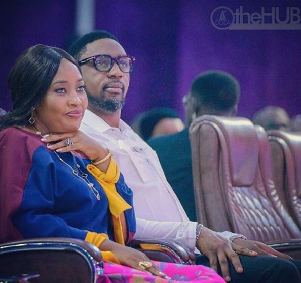 Pastor Biodun Fatoyinbo celebrates wife