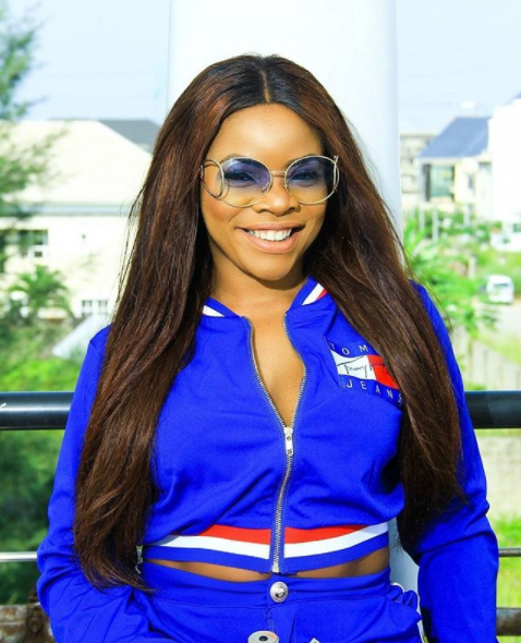 Laura Ikeji Celebrates Husband