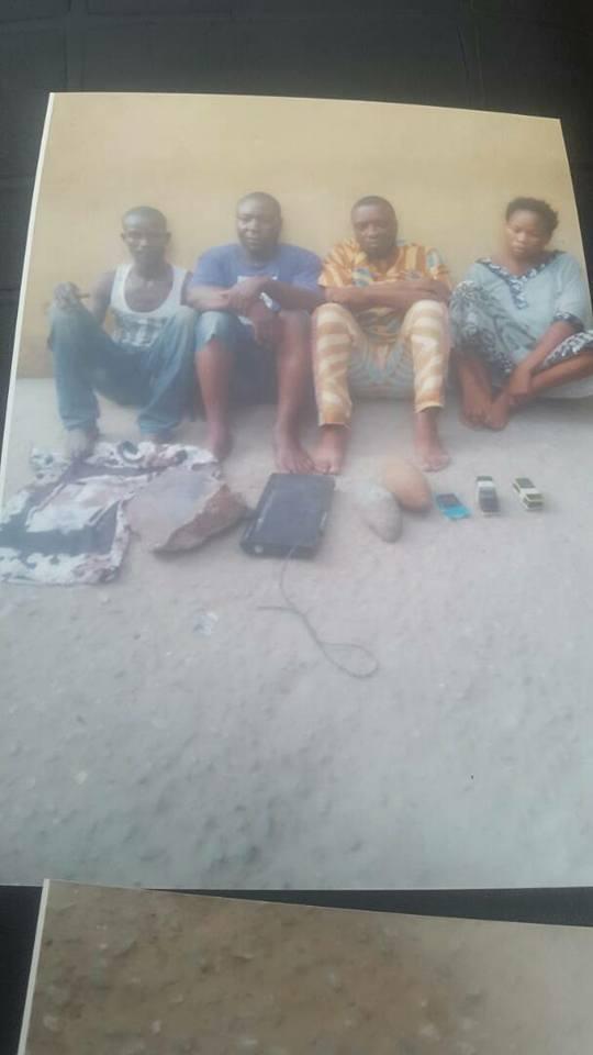 SARS Arrests 4 Suspected Badoo Members
