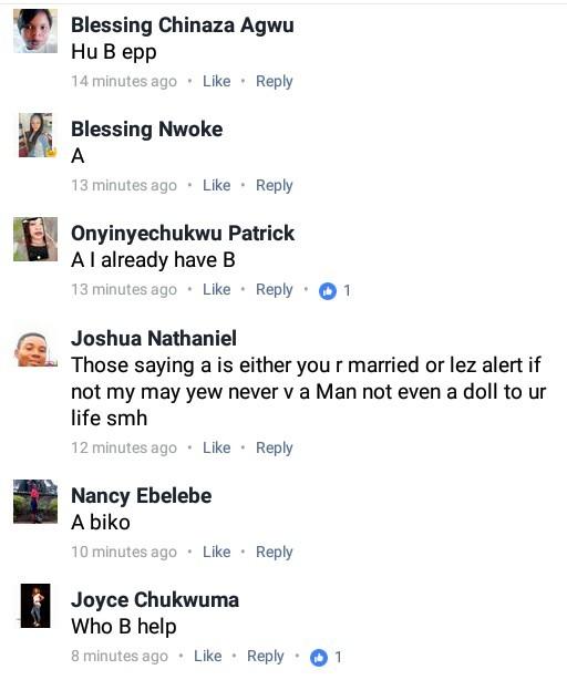 ladies choose jollof rice