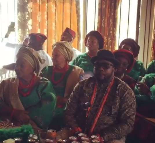 Omawumi traditional wedding