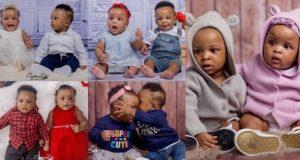 Paul Okoye Celebrates Twins