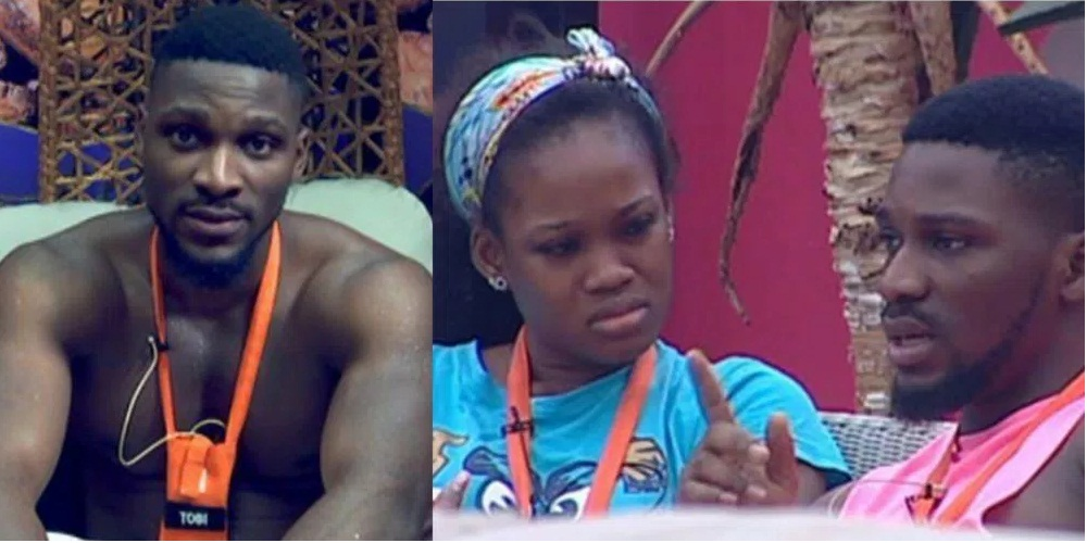 BBNaija: Davido Reacts to Tobi's obsession with Cee-C, shades Cee-C