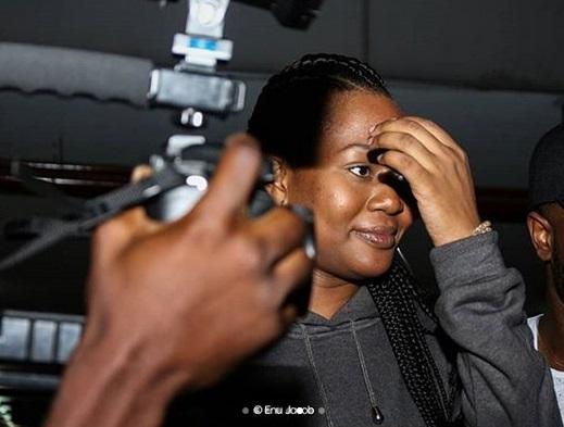 Vandora arrive Lagos