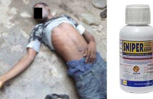 Nigerian Guy takes poison
