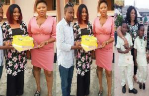 Segun Ogungbe celebrates