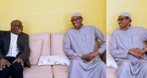President Buhari receives Tinubu