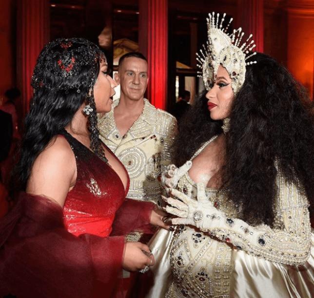 Cardi B drags Nicki Minaj