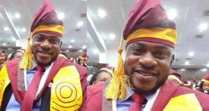 Actor Odunlade Adekola graduates