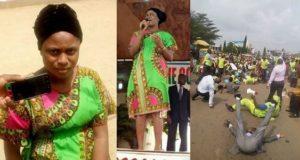 Lady shares testimony