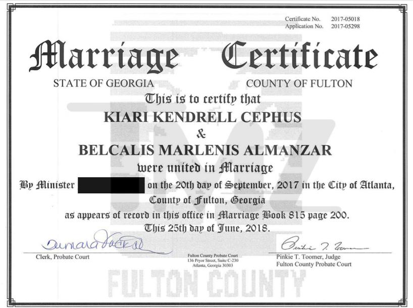 Cardi B secretly married