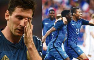 Argentina crashes