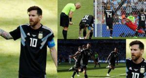 Argentina & Iceland draw