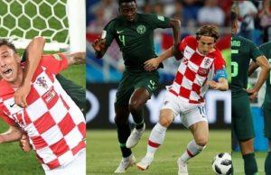 Croatia defeats Nigeria