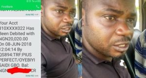 Nigerian man exposes police