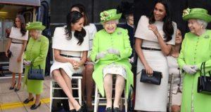 Meghan Markle & Queen Elizabeth
