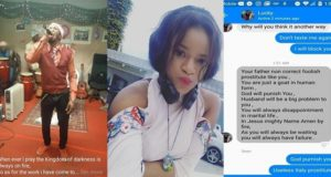 Nigerian Lady exposes Pastor