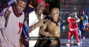 Wizkid & Shatta Wale party