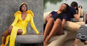 Yvonne Nelson reacts