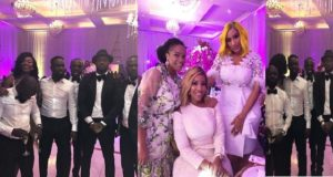 Sarkodie White Wedding