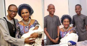 Sumbo Adeoye baby christening
