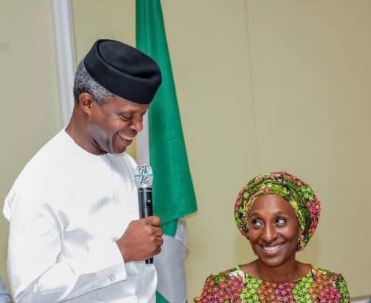 Yemi Osinbajo Celebrates