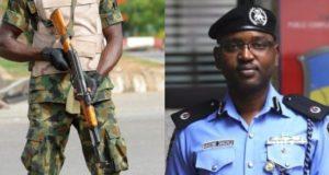 Soldiers blast police