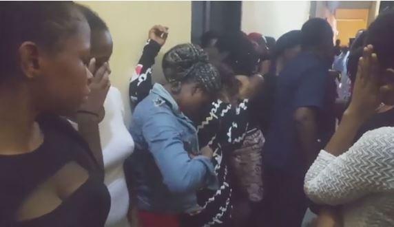 41 Nigerian prostitutes arrested