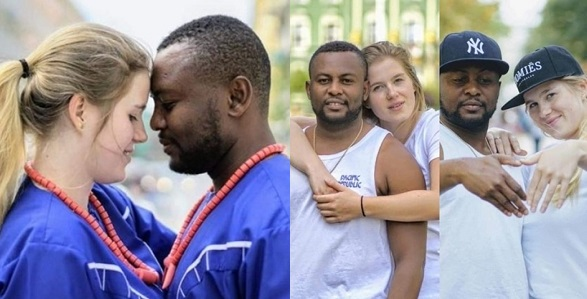 Image result for Lovely pre-wedding photos of Nigerian man and his stunning 'Oyinbo' bride