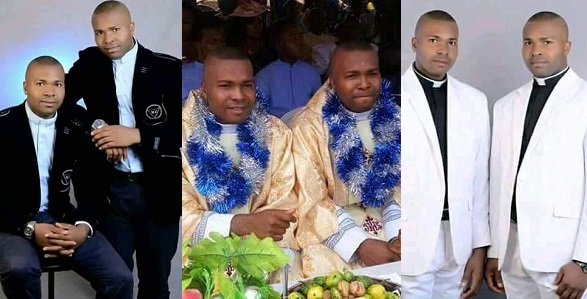 Image result for Identical twin brothers ordained Catholic priests in Imo State (Photos)
