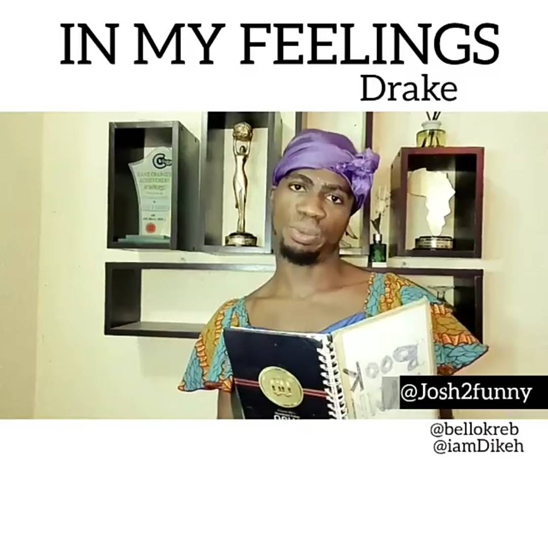 Josh2funny In My Feeling Drake Cover