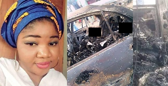 Image result for Fresh graduate burnt to death 2 weeks before her NYSC. (photos)