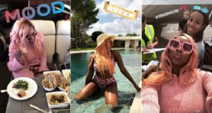 dj cuppy annual vacation