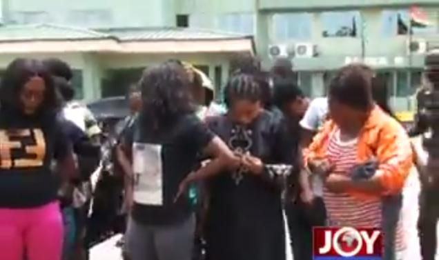 72 Nigerian sex workers