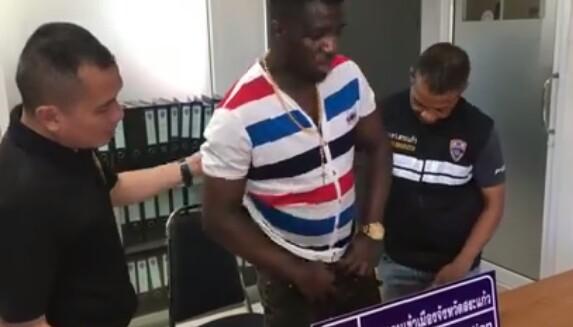 Thailand police arrest Nigerian man