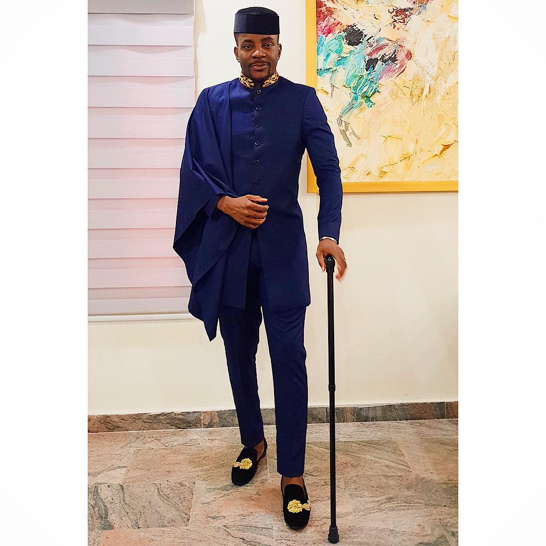 Ebuka looks dapper