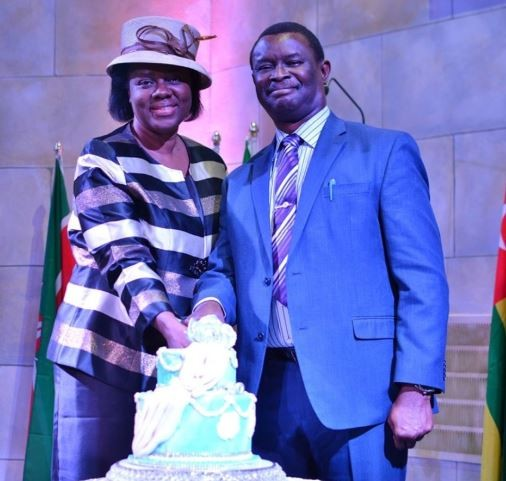 Gloria Bamiloye celebrate