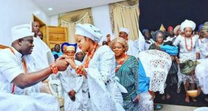 First photos from wedding of Ooni of Ife