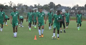 Super Eagles Begin Training
